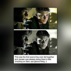 S1E1 they were so young!  #supernaturalfandom #spnfamily #samwinchester #sabriel #deanwinchester #crowley #cockles #castiel #destiel #j2 #jensenackles #jaredpadalecki #mishacollins #bobbysinger #gabriel #Lucifer #supernatural