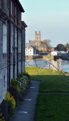 Limerick City on a bright day Limerick Ireland, Limerick City, Beautiful Places, Sidewalk, Bright, Live, Ireland, Walkway, Walkways