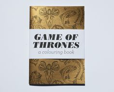 Game of Thrones - A Colouring Book by Team Art
