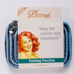 Packing Pouches - 3 pack