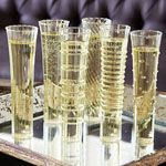 Kitchen & Dining - Dainty Champagne Flutes - Set of 6, Assorted