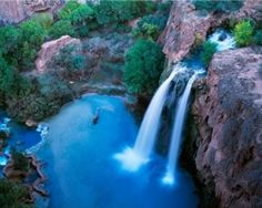 Havasu Falls by Marilyn_Monroe_Wanna_Be