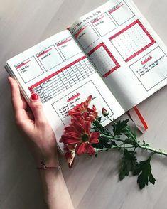 Bullet journal weekly layout, simple bullet journal layout, habit tracker, goal tracker. @franleylu