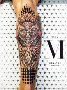 ABEL MIRANDA TATTOO    More info at abelmirandatattoo@gmail.com INSTAGRAM abelmiranda_tattoo TUMBLR http://abelmirandatattoo.tumblr.com  #geometric #sacredgeometry #psychedelic #dotwork #trash #owl