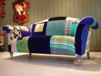 crazy patchwork upholstered furniture