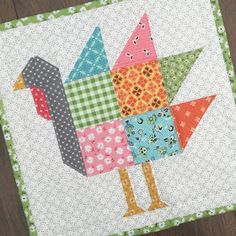 Bee In My Bonnet: New Patterns...Homemade Pie - Happiness is Homemade - and Gobble Gobble Quilt!!!