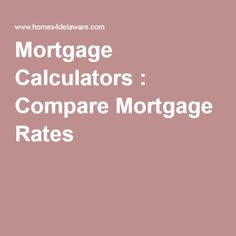 mortgage rates apr vs apy