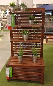 Ikea Applaro, zitelement - groendecoratie - stand alone en afscherming tegen de wind; een optie voor ons terras