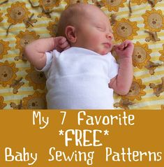 I want to talk about some baby patterns that I love. I have used all of these and recommend each of them!  (adsbygoogle = window.adsbygoogle || []).push({}); I love these patterns because: They're free! You can print them at home. (I'm not a fan of tracing existing clothing. Mine never come out right!) They are easy. All but one are unisex.Read More »