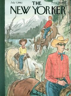 The New Yorker - Saturday, July 7, 1962 - Issue # 1951 - Vol. 38 - N° 20 - Cover by : Perry Barlow