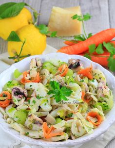 Pasta Salad, Cobb Salad, Calamari, Antipasto, Summer Recipes, Biscotti, Italian Recipes, Seafood, Salads