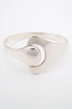 Hans Hansen modernist 'puzzle' bracelet