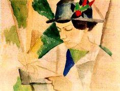 August Macke (1887-1914) - Elisabeth Gerhardt