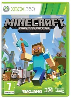 minecraft xbox 360 edition the video game Minecraft Video Games, Xbox 360 Video Games, Minecraft Games, Latest Video Games, Xbox Games, Creeper Minecraft, Minecraft Stuff, Pc Games, Shopping