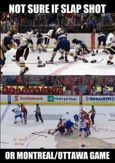 I don't care what anyone says in public. everyone enjoys watching the occasional free for all. Hockey Memes, Hockey Quotes, Sports Memes, Funny Hockey, Sports Humour, Sport Quotes, Bruins Hockey, Hockey Players, Hockey Baby