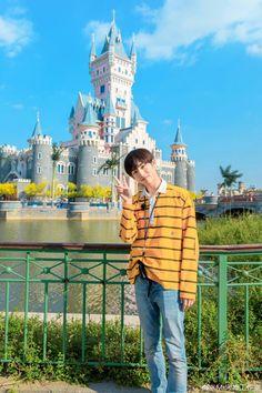 """""""amusement park date with sicheng 🏰"""""""