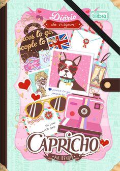 Caderno Diário de Viagem Capricho 80 Folhas