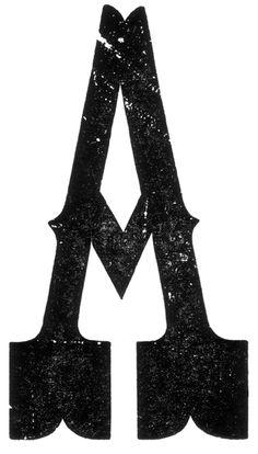 Hamilton Manufacturing Company, Tuscan Egyptian, capital A, end grain, letterpress, wood type