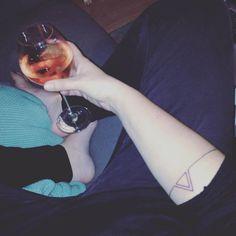 #tattoo #minimalist #triangle