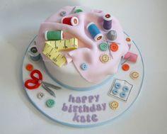 Seamstress Cake - Google Search