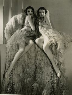 Beth and Betty Dodge by George Hurrell, 1930
