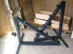 The UnAverage Equestrienne: Jump standards .... a new way to build. this is really really smart. especially for lunging