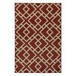 """Oriental Weavers Ella 3685J 7'10"""" x 10' Red Area Rug"""