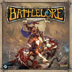 Game description from the publisher:  Prepare for fantasy battles beyond your wildest imagination with the onslaught of BattleLore Second Edition. Set in the fantasy realm of Terrinoth, BattleLore Second Edition is a two-player board game focused on squad-based battles between the hardy defenses of the Daqan Lords garrison in Nordgard Castle and the unleashed ferocity of the demon-worshipping Uthuk Y'llan. You must strategically command your troops and use the power of lore to tip y...