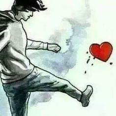 hiphhop mix by Alzergi Broken Heart Boy, Broken Heart Drawings, Broken Heart Pictures, Sad Drawings, Dark Art Drawings, Anime Kunst, Anime Art, Antonio Francisco Lisboa, I Hate Love