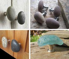 pomos de puerta con piedras