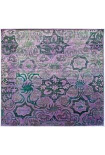 Aquasilk 10'0    another fave over dyed silk rug <3