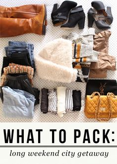 Packing for a Long Weekend Getaway