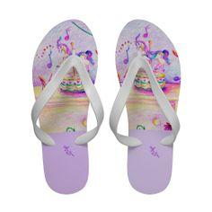14df5a35526e1 Carousel Dreams White Flip Flops Sandals  flipflops  sandals  summer   carousel  purple  mom pretty  carouseldreams  womens  fashion  accessories