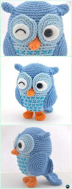 Crochet Amimigurumi Jip the Owl Free Pattern-Amigurumi #Crochet Owl Free Patterns