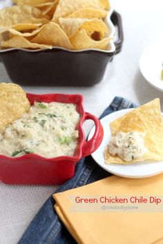 Green Chicken Chile Dip