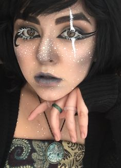 Dark Elf-inspired makeup look - Album on Imgur