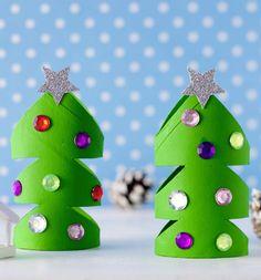 Toilet Paper Roll Christmas Tree - Das Klorollen-Bastelbuch | TOPP