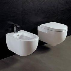 Sanitari Sospesi Ceramica Per Piccoli Spazi 50 Cm Sedile Soft Close