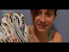 """* for the """"note"""" in the video.... I got some of my prefolds new from cottonbabies.com for $1.50 each (unbleached indian ones). I averaged out the price of th..."""