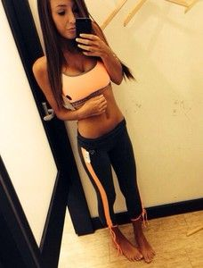 sportswear workout gym leggins sportswear pants sports bra sportswear orange coral black