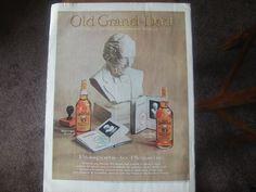 Vintage Magazine Print Ad Old Grand-Dad Bourbon Whiskey