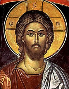 earliest icons of pantocrator - Byzantine Icons, Byzantine Art, Religious Icons, Religious Art, Orthodox Catholic, Christ Pantocrator, Roman Church, Spiritual Paintings, Christian Artwork