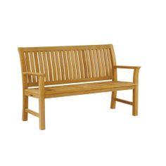 Teak Chelsea Bench   Outdoor, Patio Furniture Toronto, Waterloo, Ottawa    Hauser Stores