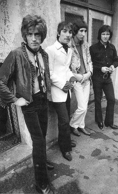 The Who early day hairdo*s wow...roger who did your do?