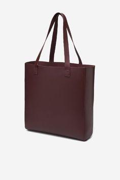 Centre Commercial: Veja Soleta Burgundy Leather Shopper