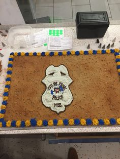 Respect the law enforcement American Cookie, Cookie Cakes, Cookie Designs, Law Enforcement, Respect, Birthdays, Ideas, Home Decor, Anniversaries