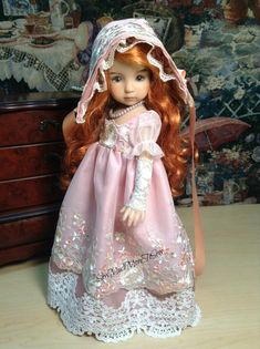 Dianna Effner Little Darling Doll  Regency by SewMuchMoreToSew