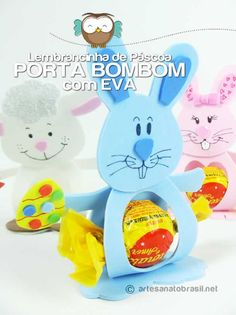 Risultati immagini per molde porta bombom mickey Foam Crafts, Easter Crafts For Kids, Diy And Crafts, Paper Crafts, Kids Art Galleries, Spring School, Ideas Para Fiestas, Candy Gifts, Art For Kids