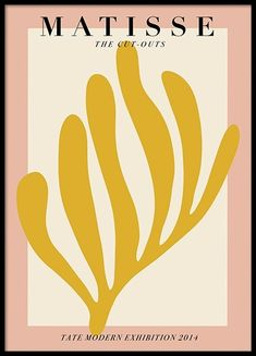 Here at Desenio you will always find posters and prints showcasing the latest interior design styles and trends. Henri Matisse, Tate Modern Exhibitions, Desenio Posters, Matisse Cutouts, Gold Poster, Shape Posters, Art Posters, Buy Posters Online, Prints Online