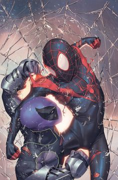 Ultimate Spiderman Digital Painting Tutorial